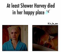 Shower Sarah Harvey Pretty Little Liars