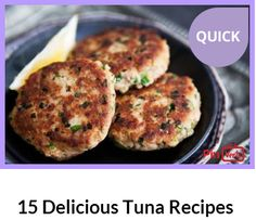 It's no secret that many of us vow to eat a bit healthier, but there is no reason to be disappointed with that, because healthy food can still be delicious food. We are giving you a list of delicious and super healthy tuna meals. Satisfy Your seafood desires with these tuna fish recipes! Check out at http://pinverts.com/15-Delicious-Tuna-Recipes_u5b68w6