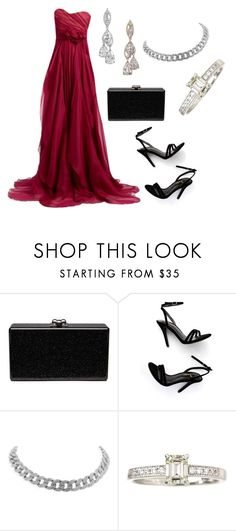 """""""Без названия #3645"""" by claire-hamilton-bristol ❤ liked on Polyvore featuring Edie Parker and LULUS"""