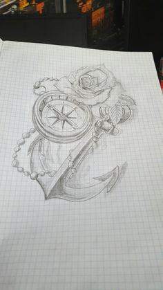 Tattoo anker