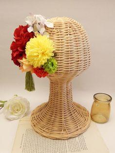 和装のヘッドドレス。   オーダーお問い合わせはwebsiteからお願いします。http://amarige.ciao.jp