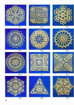 croche: crochet motifs