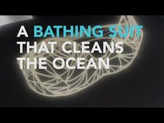 This Bikini Can Clean The Ocean As You Swim - Taking wearble technology up a notch, the engineers at University of California Riverside have invented a bikini that depollutes the ocean as you swim