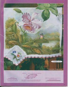 Trabalhos de Pintura e Crochê N 05 - Rosana Mello - Álbuns da web do Picasa