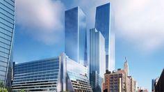 SOM Unveils New Renderings of New York City's $4.5 Billion Manhattan West