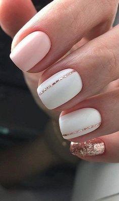 Minimalist nail art for You to make yourself look elegant and fashionable - Näg. - Minimalist nail art for You to make yourself look elegant and fashionable – Nägel – - Stylish Nails, Trendy Nails, Chic Nails, Nagellack Design, Cute Nail Colors, Minimalist Nails, Neutral Nails, Pretty Nail Art, Cute Acrylic Nails