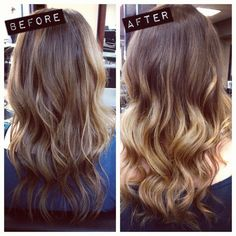 Can't decide if I want to go all blond, or do a dramatic ombre like this