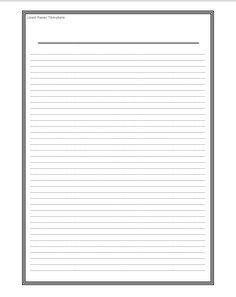 Graph Paper Template  Wordstemplates    Graph Paper