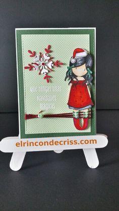 Tarjeta navideña gorjuss