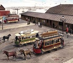 Cooperline: A portfolio of the transport art and photography of W. Cooper and the artwork of D. Liverpool Town, Liverpool Docks, Liverpool History, Local History, Family History, New Brighton, London Transport, Bus Station, Commercial Vehicle