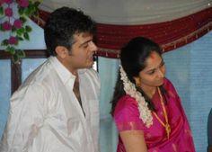 Ajith with his best half Shalini