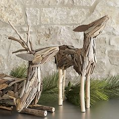Driftwood Deer - Crate & Barrel