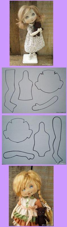 KUFER z artystycznym rękodziełem : Szmacianki - wykroje