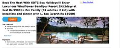 Visit the famous Bandipur resort . Exclusive discounts through TheDealsPoint