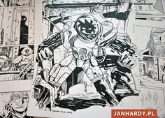 "Jakub Kijuc - komiks, ilustracja: ""Mięsna Kobieta"" powraca!"