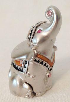 "Estee Lauder ""Pleasures"" ""Lucky Elephant"" Solid Perfume Circa 1998 | eBay"
