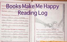 books make me happy reading log!