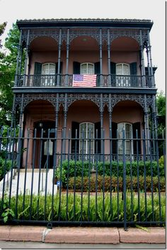 New Orleans--one of my favorites houses in The Garden District