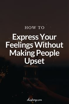 It can be challenging to express your feelings without making other people upset. Here are some tips on how to communicate in a healthy way. #unresolvedfeelings #healthyliving #relationships #communication #relationshipskills #feelings #emotions Mixed Feelings, Feelings And Emotions, Relationship Advice, Relationships, Personal Growth Quotes, How To Express Feelings, Self Improvement, Affirmations, Communication