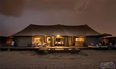 Kingfisher Lodge by Bushtec Luxury Tents, Luxury Camping, Camping Glamping, Midland Hotel, Eco Cabin, Tent Living, Dome Tent, Camping Style, Desert Homes