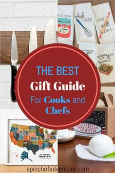 Unique gift ideas for him or gift ideas for her. This gift guide is the best list of Christmas gift ideas as well as gift ideas for friends, or birthday gift ideas. This article has a list of THE BEST Etsy gifts for people who like to cook and for foodies. From personalized gifts to house warming gits, or gifts for people who like to entertain. These present ideas are thoughtful and memorable. Personalized Birthday Gifts, Great Birthday Gifts, Diy Gifts, Unique Gifts, Best Gifts, Subscription Gifts, Adult Birthday Party, Gifts For Cooks, Best Friend Birthday