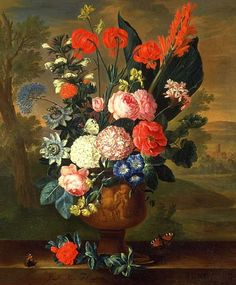 Jacob van Huysem  Twelve Months of Flowers: June  Early 18th century