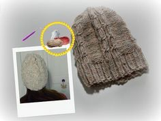Tricotin - Bonnet à torsades I Loom Knitting - YouTube