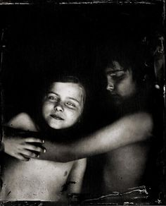 """""""When I look through the camera, I don't just see the child in front of me but I feel the child that I was inside of me. I remember that it's not always easy being a child.""""  ~Deborah Parkin, Newcastle upon Tyne, UK, profiled in Combustus  """"Wetplate Collodion Photos Slow the Rush of Childhood""""  http://www.combustus.com/13/wet-plate-collodion-photographs/"""