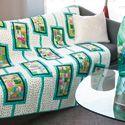 Baker's Dozen: FREE Scrappy Modern Lap Quilt Pattern Download