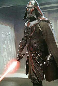 Star Wars The Force Awakens Concept Art: Jedi Killer Star Wars Vii, Star Trek, Star Wars Characters, Star Wars Episodes, Disfraz Star Wars, Cyberpunk, Jedi Sith, Sith Lord, Star Wars Concept Art