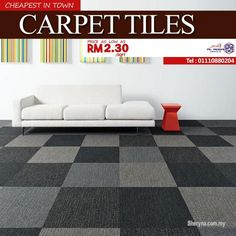 Other for sale, in Klang, Selangor, Malaysia. Carpet tiles - Good for the environment, and good for your home. Only from RM 30 So suitabl Carpet Tiles Cheap, Floor Carpet Tiles, Stair Carpet, Flooring Tiles, White Living Room Set, Inspiral Carpets, Fixer Upper Living Room, Tile Suppliers, Tiles Price