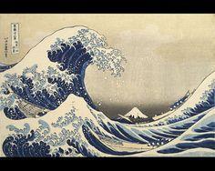 hokusai la grande vague de kanagawa