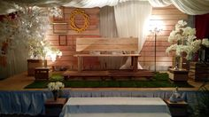 Pelamin Rustic under tent by Episod Kasih