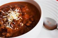 Easy Crockpot Turkey Chili