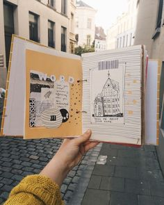 "thegreatwisdom: ""art journal sessions in brussels ⭐ "" - Skizzieren Planner Bullet Journal, Bullet Journal Ideas Pages, Bullet Journal Spread, Bullet Journal Inspiration, Art Journal Pages, Junk Journal, Art Journals, Book Page Art, Book Art"