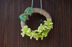 spring wreaths tropical wreath phalaenopsis green by Kreacje