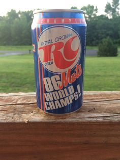 METS 1986 RC Cola World Series Champs Soda Can Unopened  | eBay