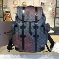 a753dd50eba1 Louis Vuitton N41709 Christopher PM Backpack Damier Graphite Canvas