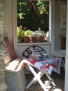 Texas Potting Shed Porch Outdoor Sofa, Outdoor Spaces, Outdoor Decor, Potting Sheds, Potting Benches, Shed With Porch, Home Porch, Garden Structures, Outdoor Gardens