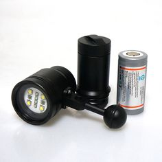 2016 Meikon 2400LM Diving Torch Light Lighting for Underwater Waterpoof Video Camera Photography for Diving Scuba