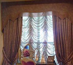 1000 images about cache rideaux on pinterest salons decoration and mauve - Modele de rideau pour salon ...