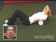 ▶ Monday Minute: Spine Extension Using A Foam Roller - YouTube