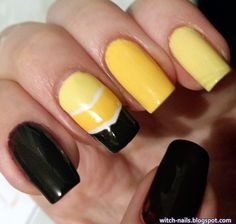 #yellow #nails #notd