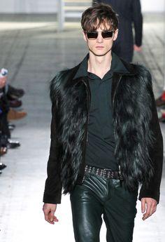 "monsieurcouture: "" Costume National F/W 2015 Menswear Milan Fashion Week """