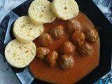 Pikantní masové kuličky s rajčatovou omáčkou recept Potatoes, Vegetables, Food, Vegetable Recipes, Eten, Veggie Food, Potato, Meals, Veggies