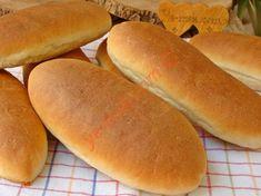 Sandviç Ekmeği Tarifi Iftar, Hot Dog Buns, Ham, Brunch, Cooking Recipes, Amigurumi, Tomatoes, Bread, Kochen