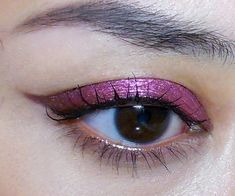 Red-Metal Winged Liner Tutorial (Quick and... - The Makeup Box