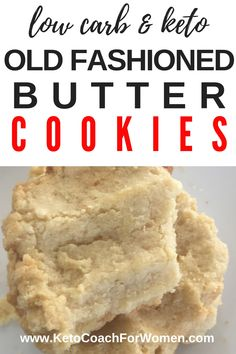 One bite is all it takes of these low carb old fashioned butter cookies and you'll be hooked! These keto friendly cookies are easy to make and only have 1 net carbs per serving. via @ketocoachforwomen