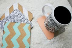 Coaster DIY is a great way to incorporate home decor trends on the cheap. (JULIA DILWORTH/24 HOURS)
