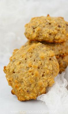 Instant Oatmeal Cookies, Oatmeal Breakfast Cookies, Breakfast Cookie Recipe, Healthy Oatmeal Cookies, Applesauce Cookies, Breastfeeding Snacks, Sugar Free, Cooking, Recipes
